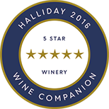Halliday 2016 Wine Companion - Cradle of Hills awarded Five Star Winery