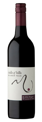 Bottle of Old Rogue Shiraz
