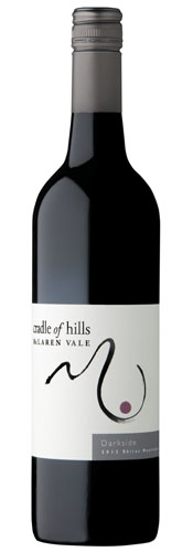 Bottle of Darkside Shiraz Mourvedre